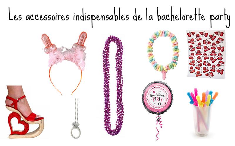 accessoires bachelorette party