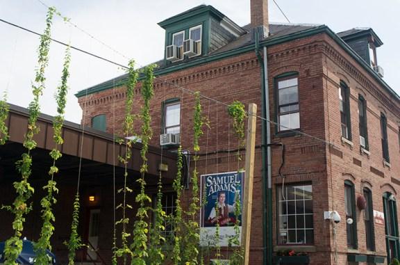 La brasserie Sam Adams Boston