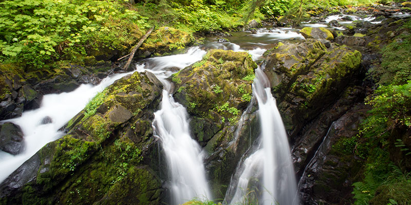 Sol Duc Valley cascades - Olympic National Park