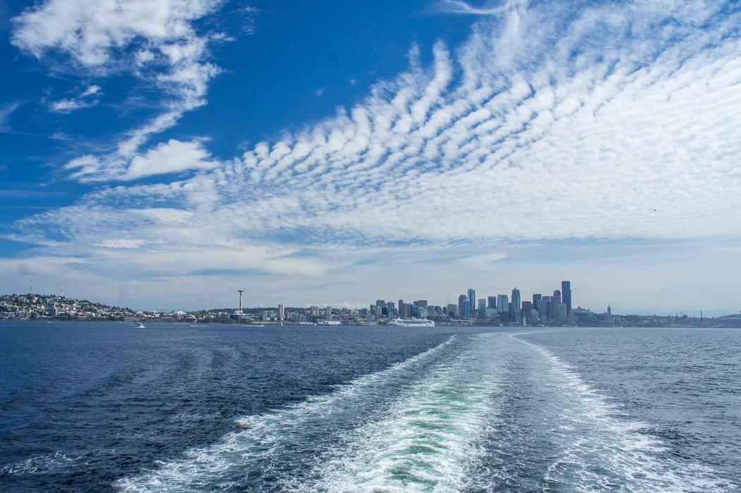 Seattle Washington ferry