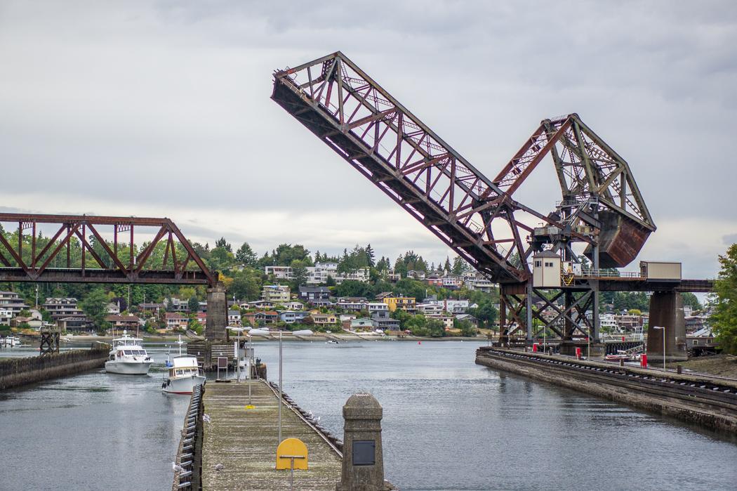 Seattle ecluses locks