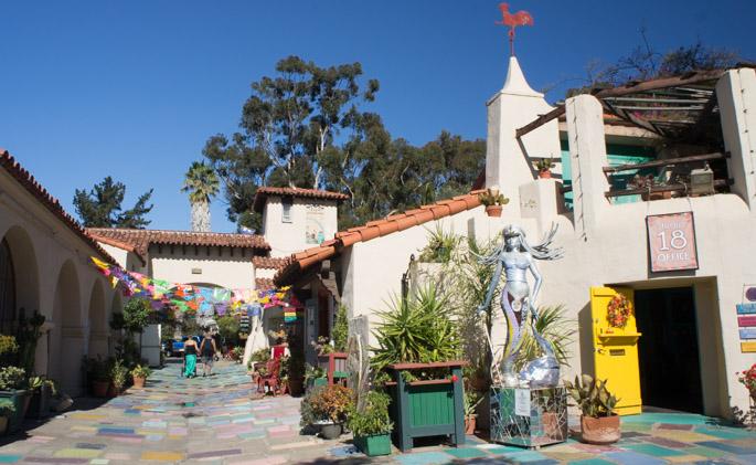 Village d'artistes à Balboa Park, San Diego