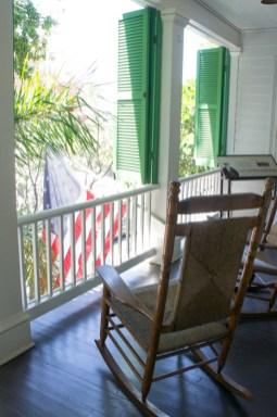 Balcon - Audubon House - Key West - Floride