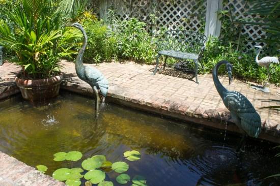 Audubon House - Key West - Floride - jardin
