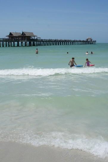Naples, Floride - la plage et le pier, la jetée