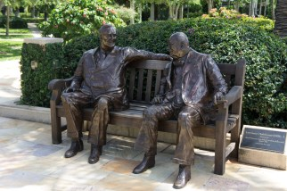 Statues- The Society of the Four Arts - Palm Beach - Florida