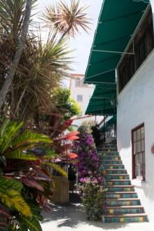 Escaliers et mosaïques - Via Mizner - Worth Avenue - Palm Beach - Floride