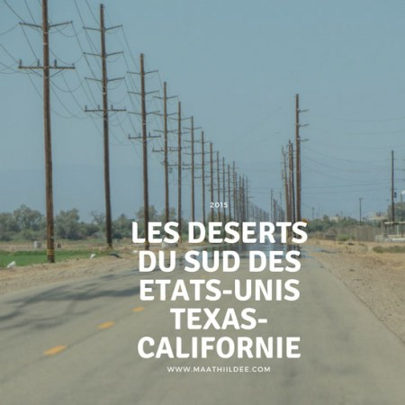 Road trip deserts sud americain