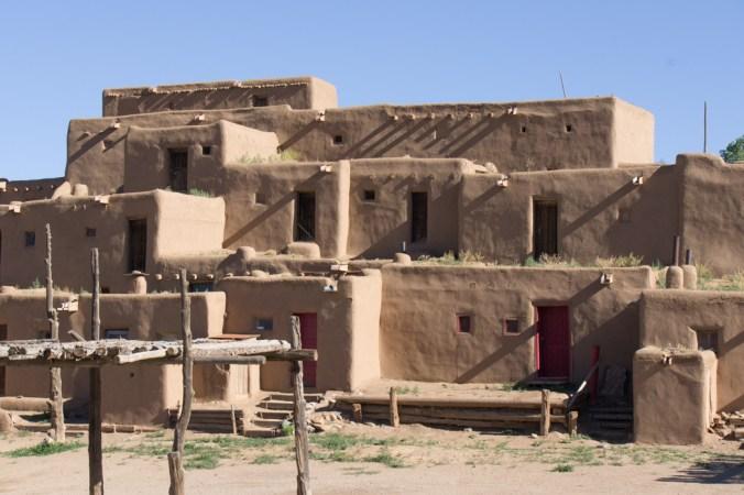 Taos Pueblo - les maisons en adobe