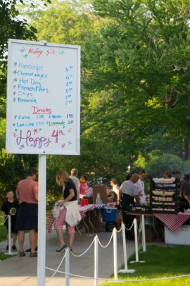 La fête du 4 Juillet à Edgartown - Martha's Vineyard