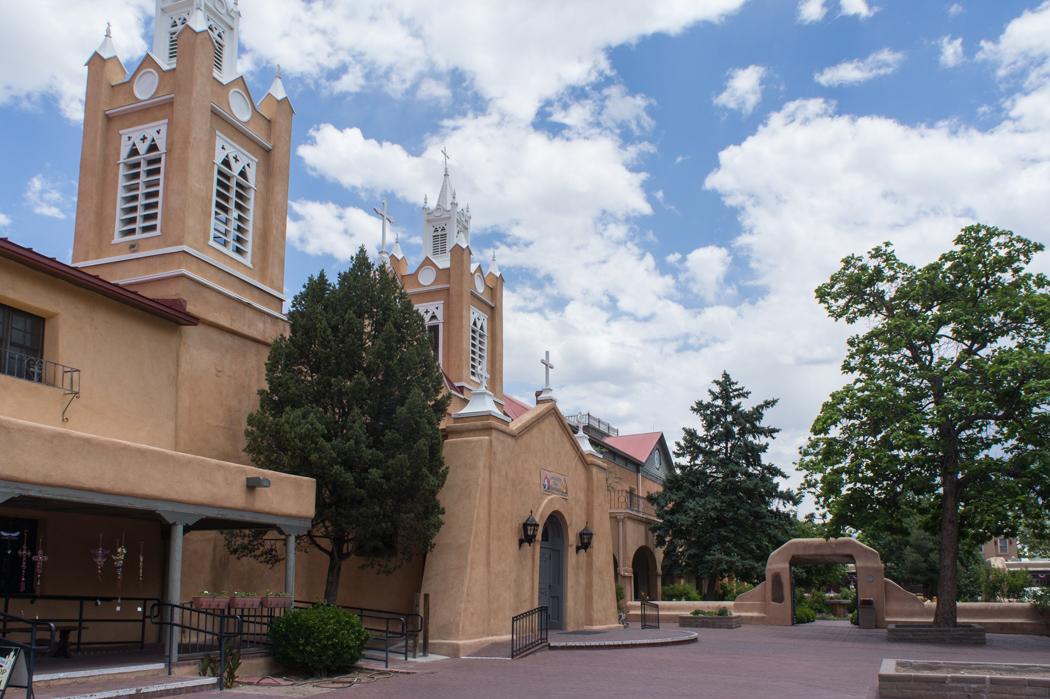 Eglise à Albuquerque Old Town Nouveau Mexique
