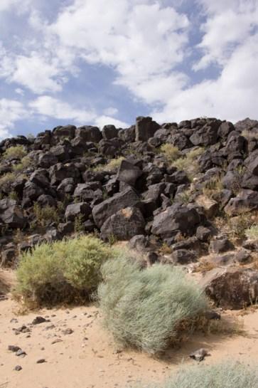 Petroglyph National Monument Albuquerque Nouveau Mexique