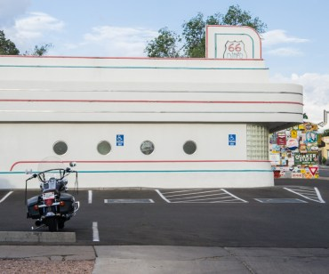 Diner 66 Route 66 Albuquerque Nouveau Mexique Harley Davidson