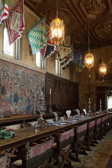 Grande Salle Hearst Castle Californie