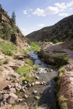 Hotel Jemez Springs Nouveau Mexique Jemez Mountain Trail river 1
