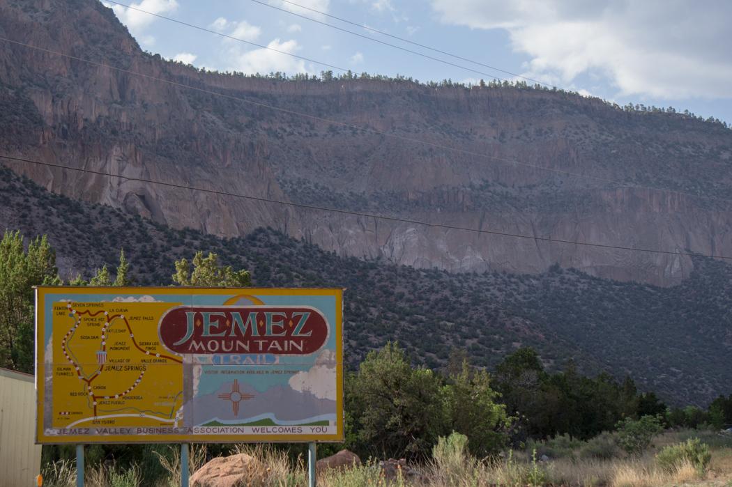 Jemez Mountain Trail - Nouveau Mexique - sign