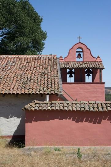 Eglise rose Purisima Mission Californie