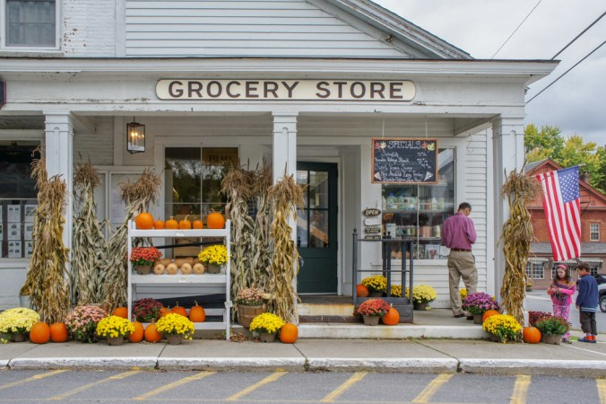 Grocery Store Vermont Nouvelle Angleterre