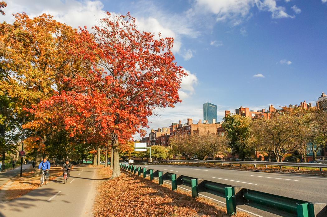 Boston automne