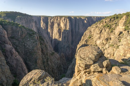 Black Canyon of the Gunnison - National Park - Colorado - road trip Etats-Unis - North Vista Trail 1