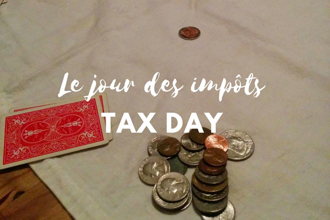 Tax day le jour des impots
