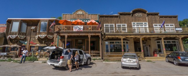 Colorado road trip - vintage shop dans le centre de Ridgway