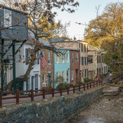 washington-dc canal georgetown