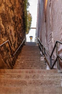 washington-dc georgetown les escaliers de l'exorciste