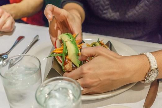 Washington DC Restaurant Old Ebbit Tacos
