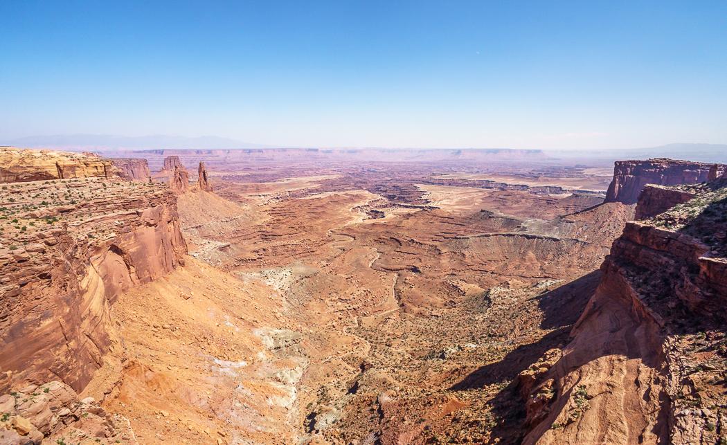 Canyonlands National Park Utah vue d'ensemble