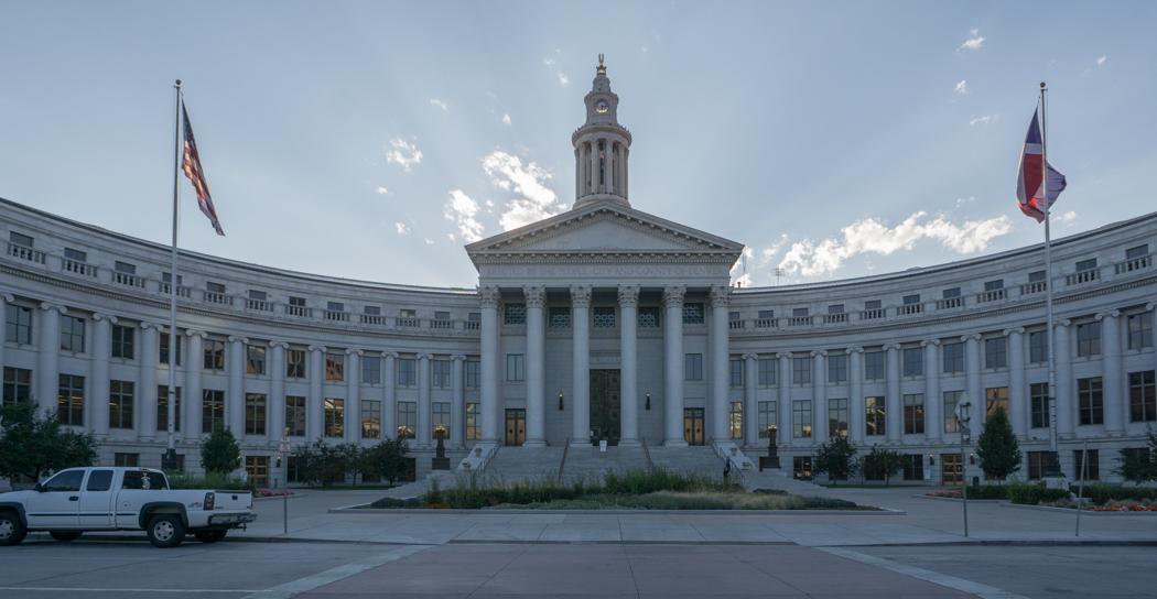 Denver Colorado-1 la mairie de DEnver
