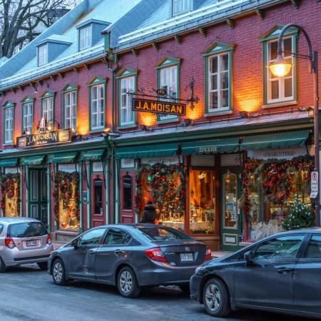 Voyage Road trip Québec jolie boutique épicerie
