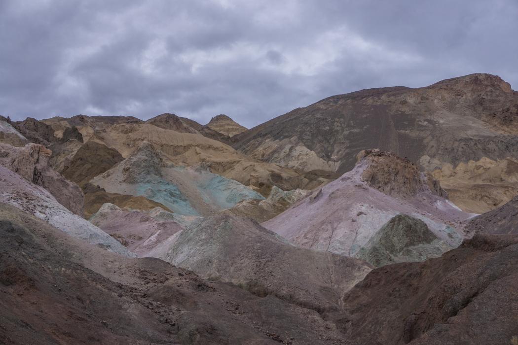 death valley california - Painted Artist Palette