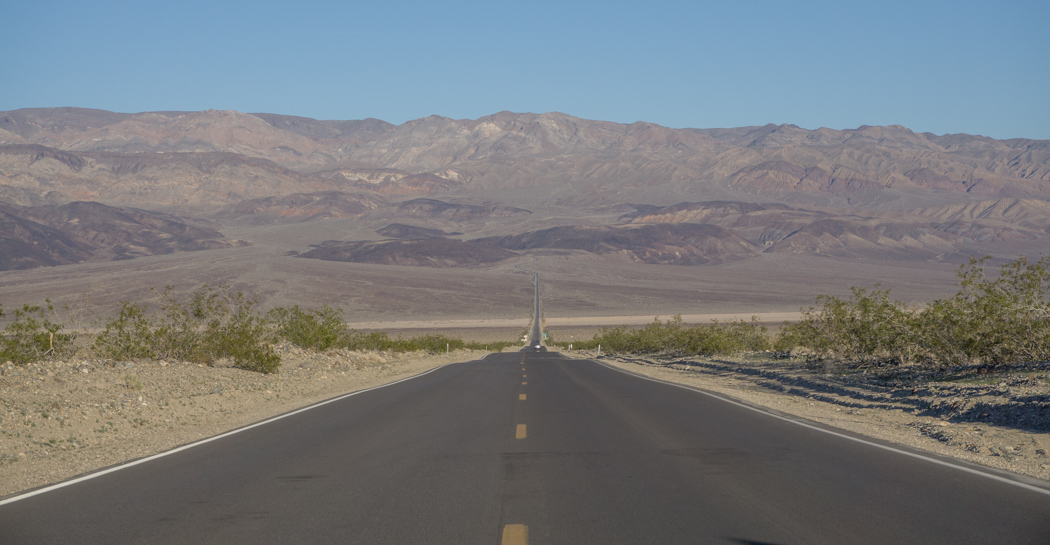 death valley california Route interminable