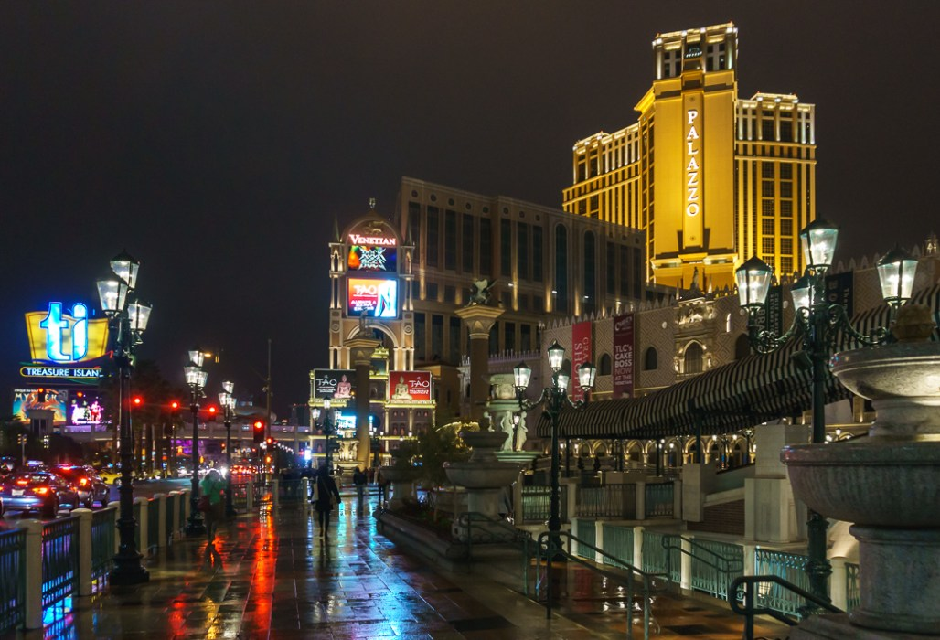 Le Strip de Las Vegas