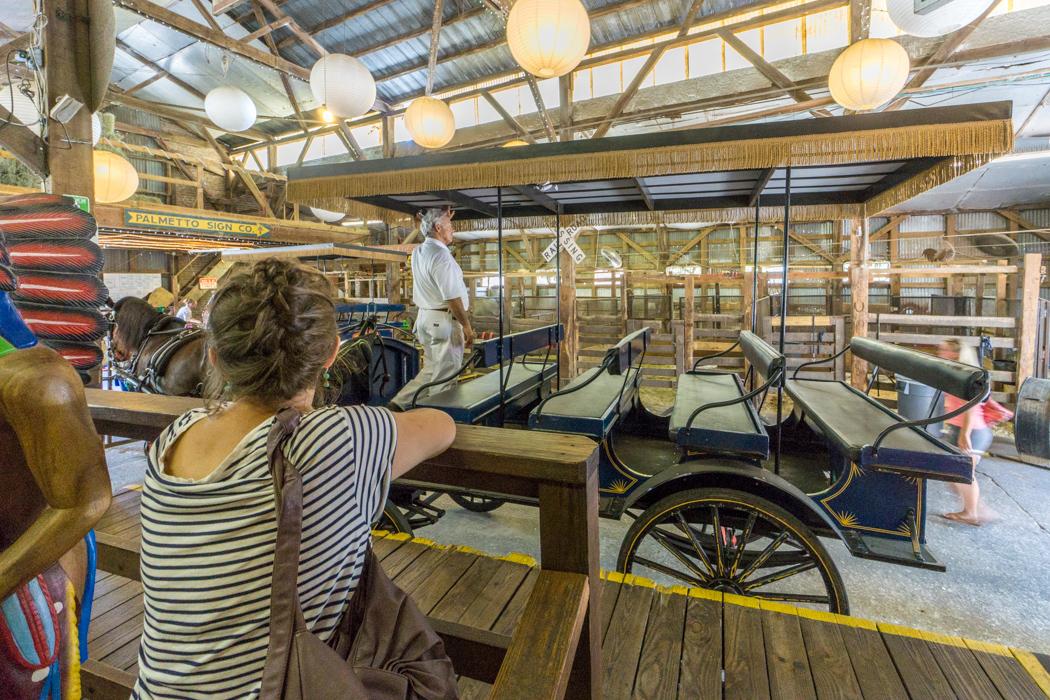 Tour en calèche à Charleston Caroline du Sud le centre historique-14