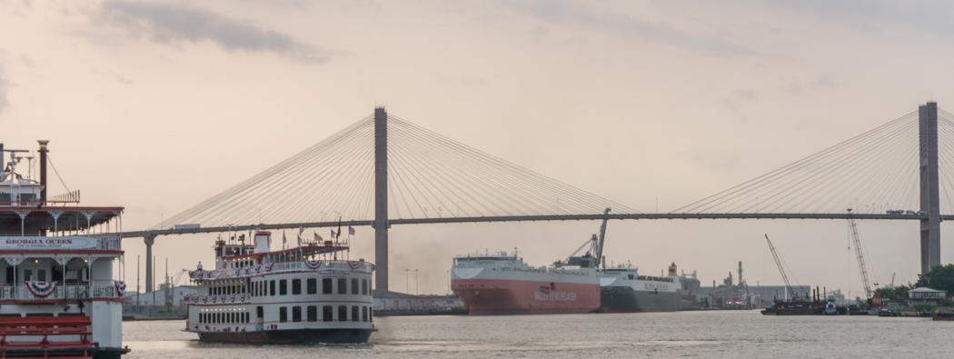 Savannah Georgie - le fleuve