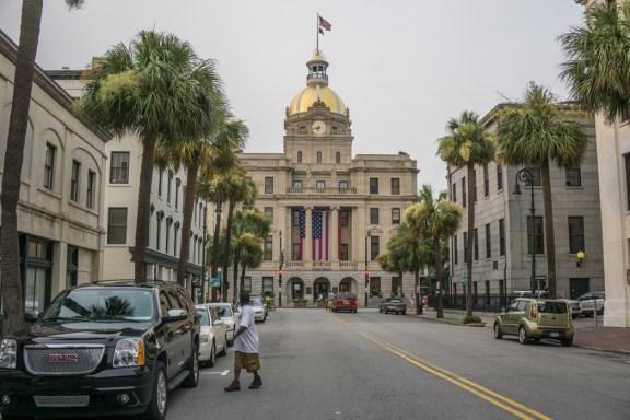 Visiter Savannah Georgie - city hall