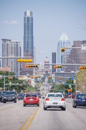Austin texas - vue du downtown depuis Soco