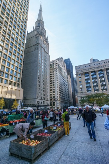 Visiter Chicago - The Loop Marche