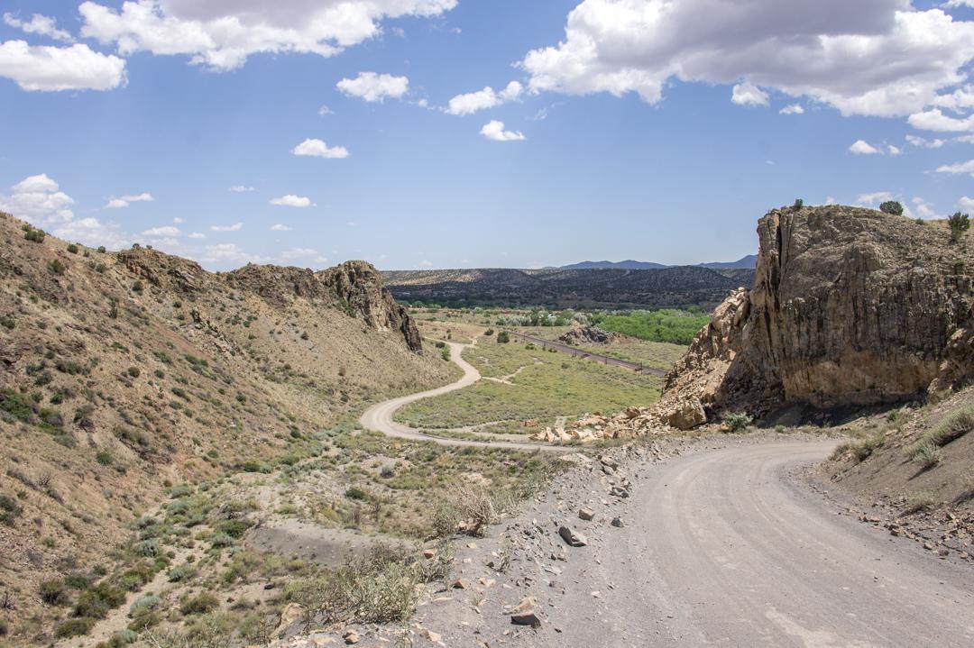 LA route de la turquoise nouveau mexique route 1