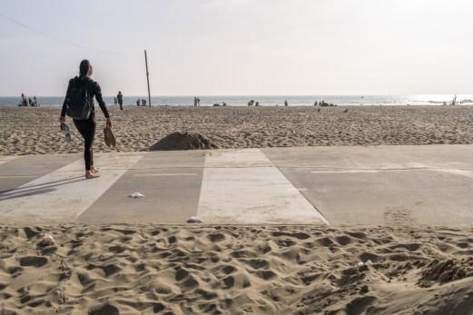Boardwalk Venice Beach Los Angeles Californie-6