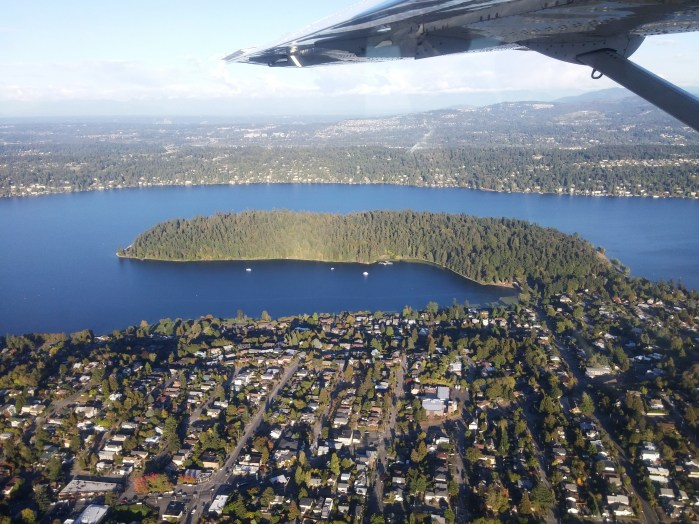 Seattle vu du ciel 1