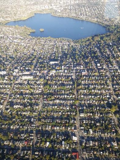 Seattle vu du ciel