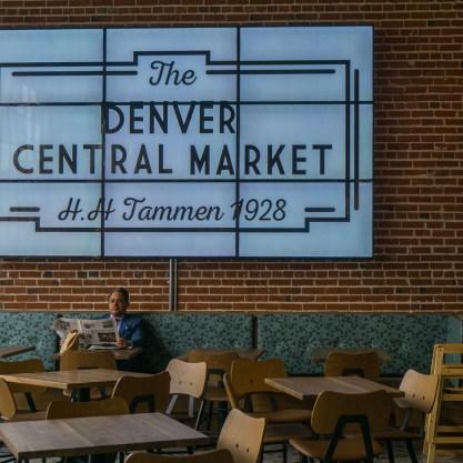 Denver Colorado Denver Central Market