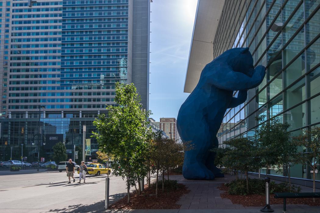 Denver Colorado - ours bleu