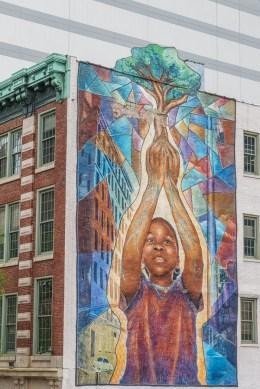 Philadelphie Mural