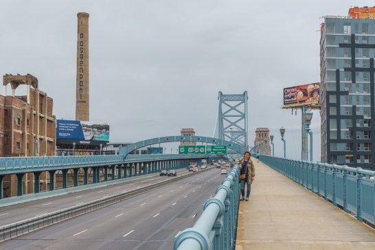 Philadelphie Franklin Bridge 2