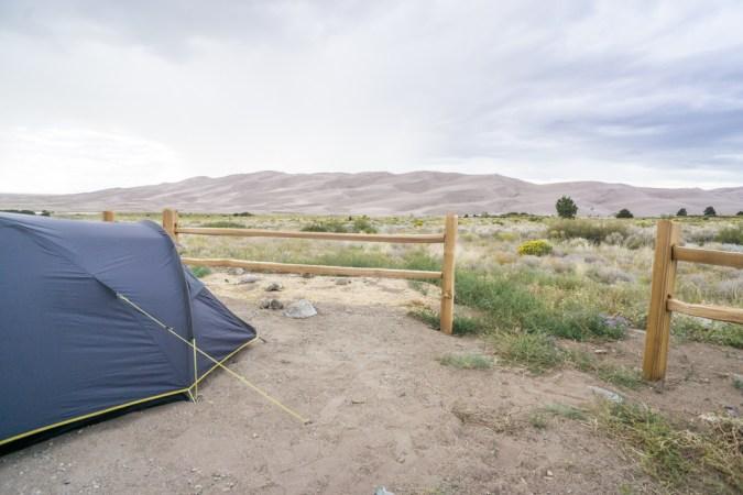 Camping Great Sand Dunes Colorado-1