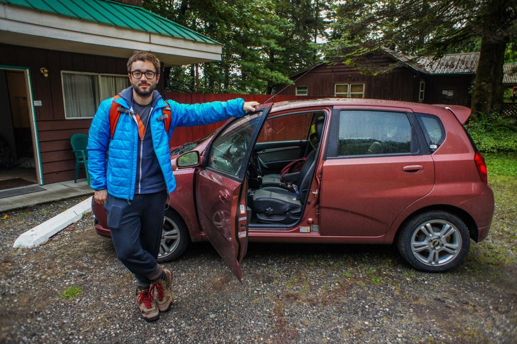 Motel dans le parc des Cascades Etats Unis